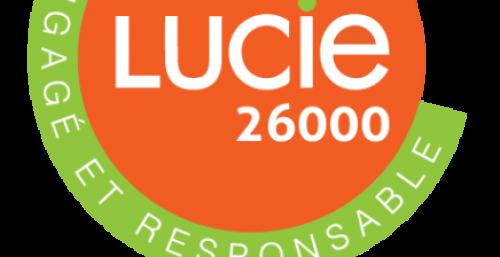 Logo LUCIE 26000 labellisé labellucie 436x768